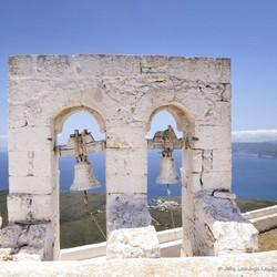 Kythira klokken van het kerkje Agios Giorgos