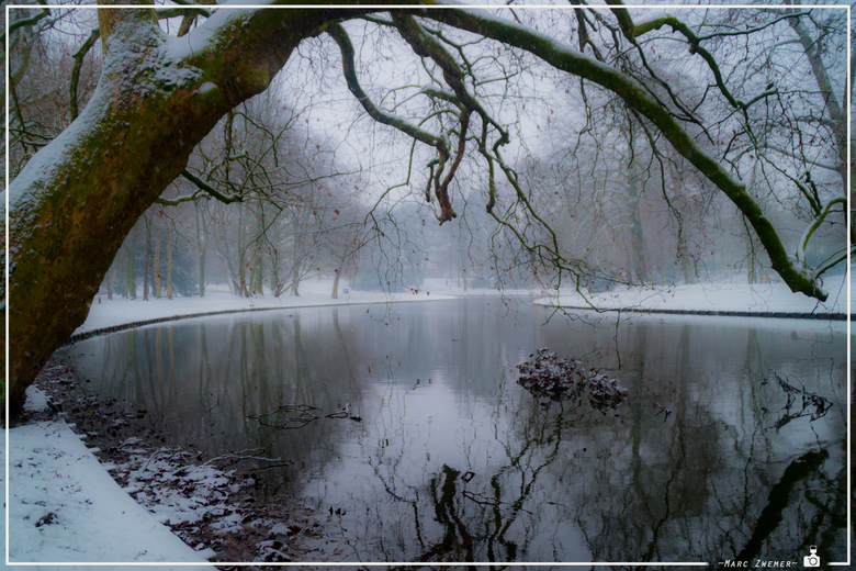 Winter in een sprookje