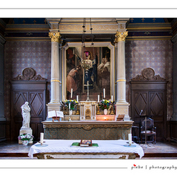 Interieur kerk Chambord
