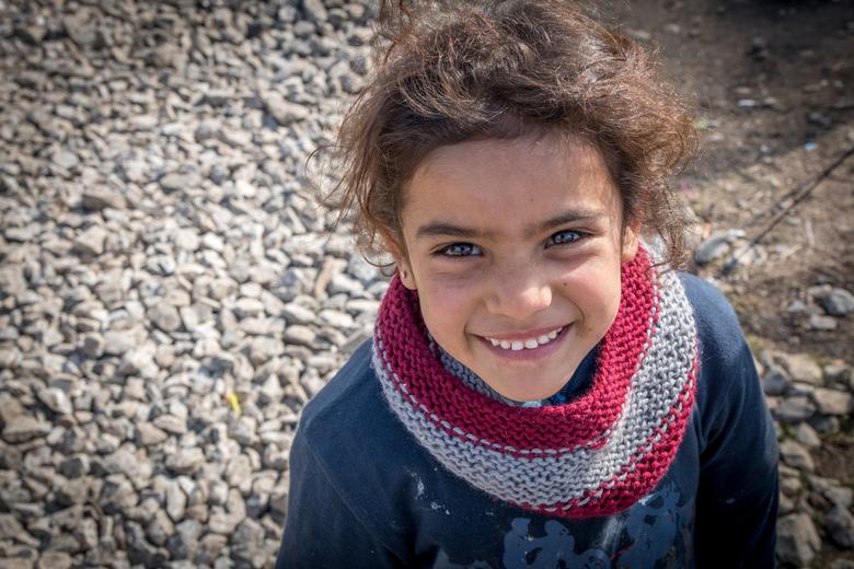 Kind in Idomeni