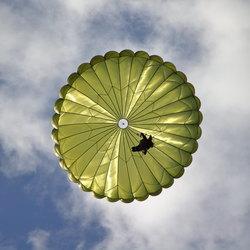 parachute van onderen