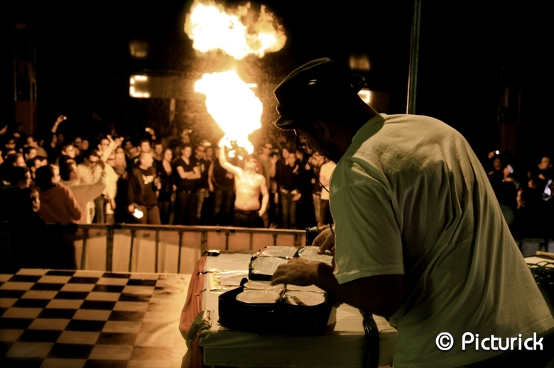Turntable on Fire - Event