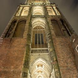 De Dom in Utrecht bij nacht