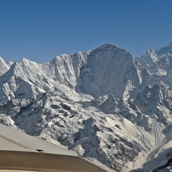 Himalaya mountain flight