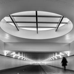 Fietstunnel Rotterdam CS
