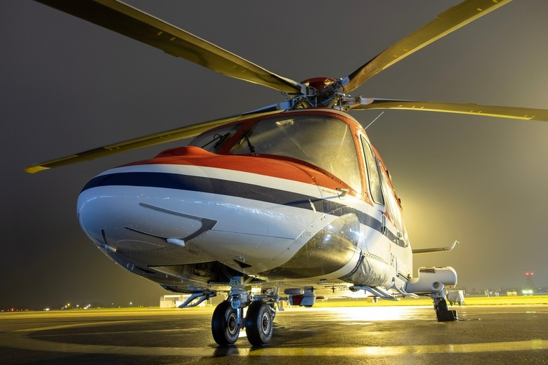 Nose of Helicopter  - AW139 from CHC
