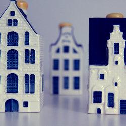 delfts blauwe huisjes