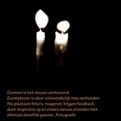Een lichtje voor Zoom