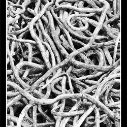 Steel spaghetti