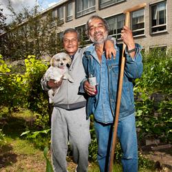 Woodstock tuinmannen met hond.jpg