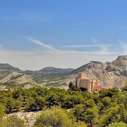 Kasteel Castillo de Vélez-Blanco Andalusie