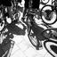 fietstoer door de stad met een gids