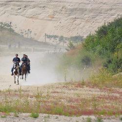 Horse riding....