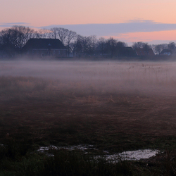 opkomende mist