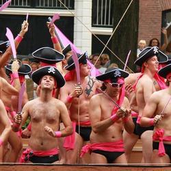 Piraten op de Gay pride