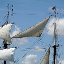 Vanaf Vlieland-boot
