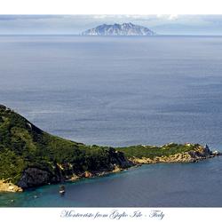 Montecristo vanaf Giglio
