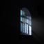 Raam in gevangenis Wolvenstein