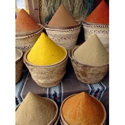 Kruiden op de markt in Marokko