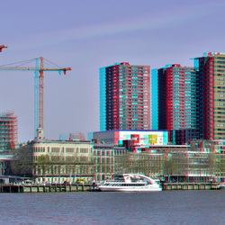 Rotterdam in 3d hyper-stereo