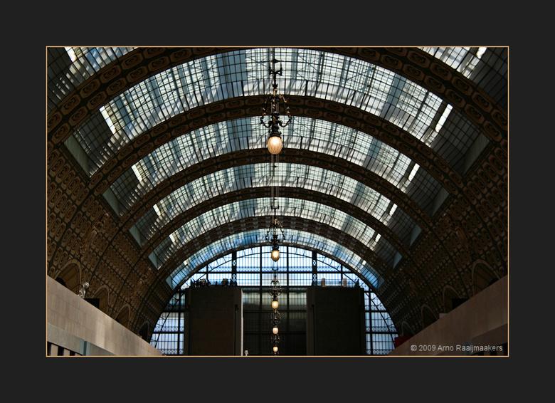 Parijs Orsay02 - Een serie met enkele foto&#039; s van het Musée d&#039;Orsay.<br /> Een prachtig museum gebouwd in een voormalig stationsgebouw.