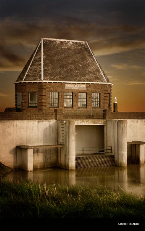 A dutch scenery - Een scene uit holland