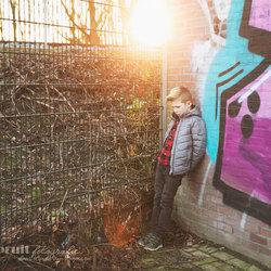 Graffiti golden hour