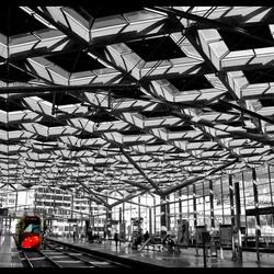 rode tram Den Haag CS