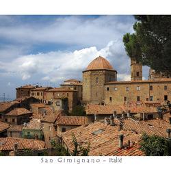 San Gimignano-Toscane