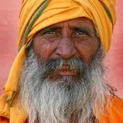 The orange-man