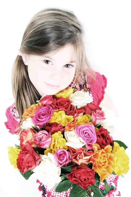 Bloemen voor mama!