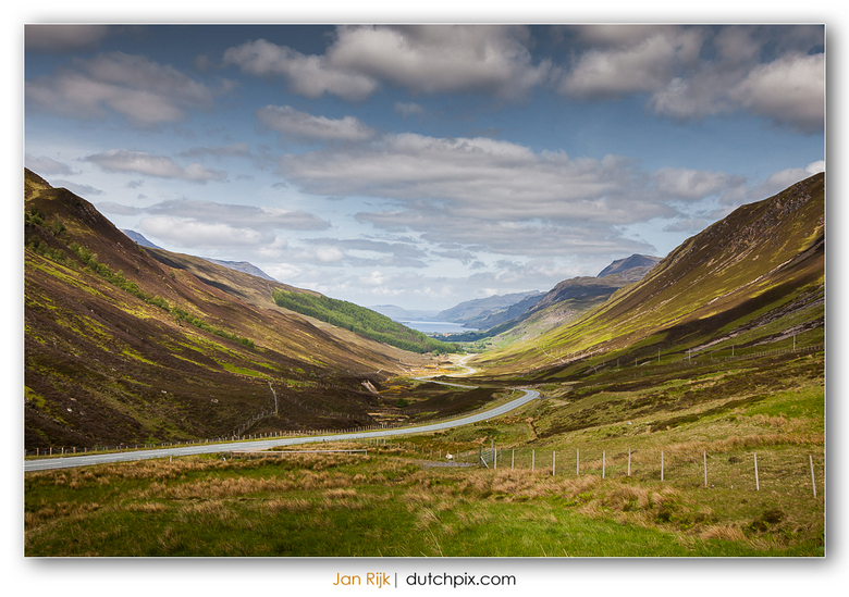 Old Road to Kinlochewe - Old Road to Kinlochewe, Scotland.