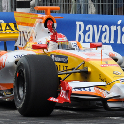alonso in actie