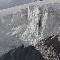 Gletscher rand