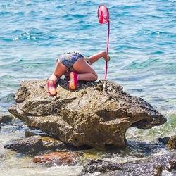 De krabbenvangster van Kroatie