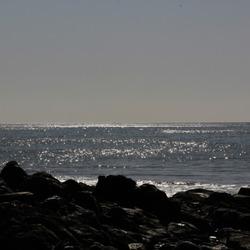 schittering van de zee