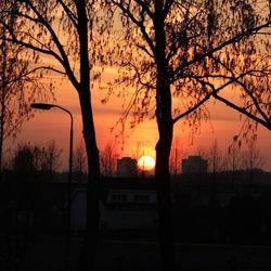 Sunset in Den Haag