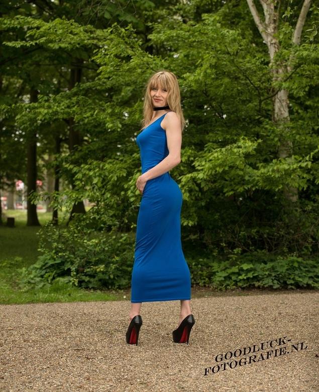 "Bleu dress - Model Justyna<br /> <br /> <a href=""http://www.goodluck-fotografie.nl/"">goodluck-fotografie.nl</a>"