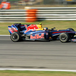 Vettel in Monza