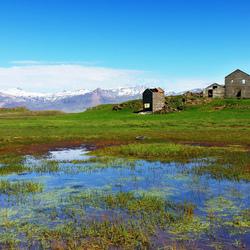 Verlaten huis in IJsland