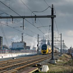 De trein uit Delft