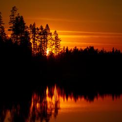 Zweedse avond bij het kampvuur