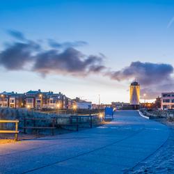 Zondagochtend voor zonsopkomst, Katwijk.