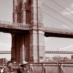 Vissers in Manhattan
