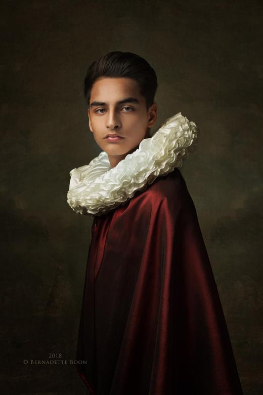 Portret van een jongeman - Dit licht, de kleuren. <br /> Het hele pallet doet aan de oude meesters denken. <br /> En hoeveel ik ook fotografeer, hoe