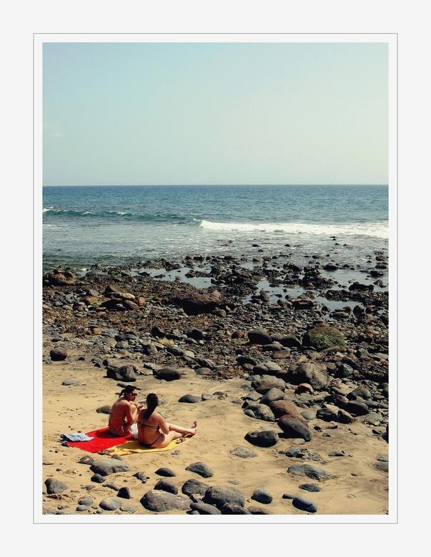 Maspalomas III - De derde foto, gemaakt aan het strand van Maspalomas (Gran Canaria.)