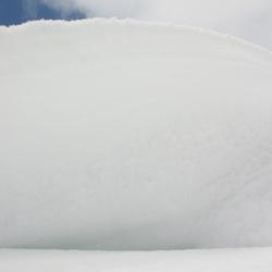 Abstract  lucht/ sneeuw