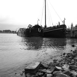 Het haventje van Woudrichem