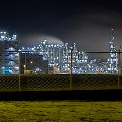 Europoort,maasvlakte en Botlek bij nacht 2