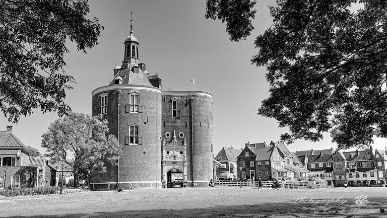 Drommedaris in Enkhuizen - Deze zomer een bezoekje gebracht aan Enkhuizen, wat een mooi dorpje!<br /> <br /> Deze zuidelijke toegangspoort, de Dromm